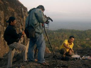 Shoting Diatas Gunung Api Purba