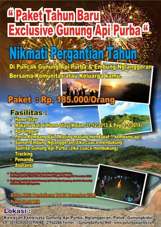 Paket Tahun Baru Exclusive Gunung Api Purba 2014